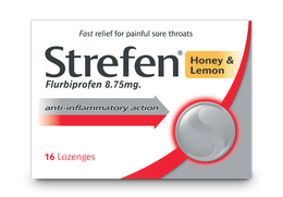 Strefen Honey & Lemon Lozenges