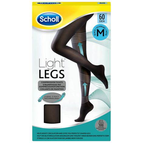 Collants Scholl Light Legs™ 60D Noir M