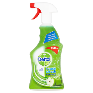 Dettol Power & Fresh Green Apple 750ml