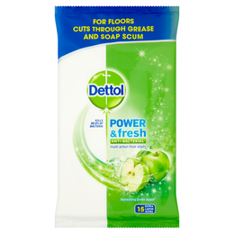 Dettol Power & Fresh Multi Action Floor Wipes - Lemon & Lime