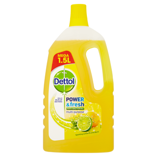 Dettol Power & Fresh Citrus Liquid 1.5L