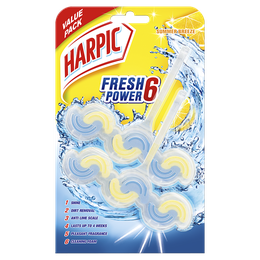 Harpic Power Fresh 6 Summer Breeze Duo Pack
