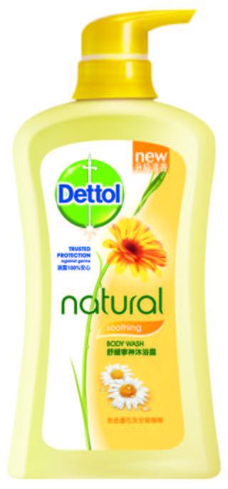 Dettol Natural Antibacterial Body Wash Range