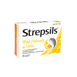Strepsils Honning & Citron sugetabletter 36 stk.