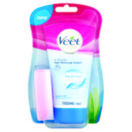 Veet® In Shower Hair Removal Cream untuk kulit Sensitif