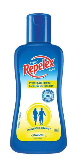 SUPER REPELEX LOÇÃO CITRONELA – 100ML