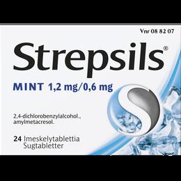 Strepsils Mint imeskelytabletti 24 kpl.