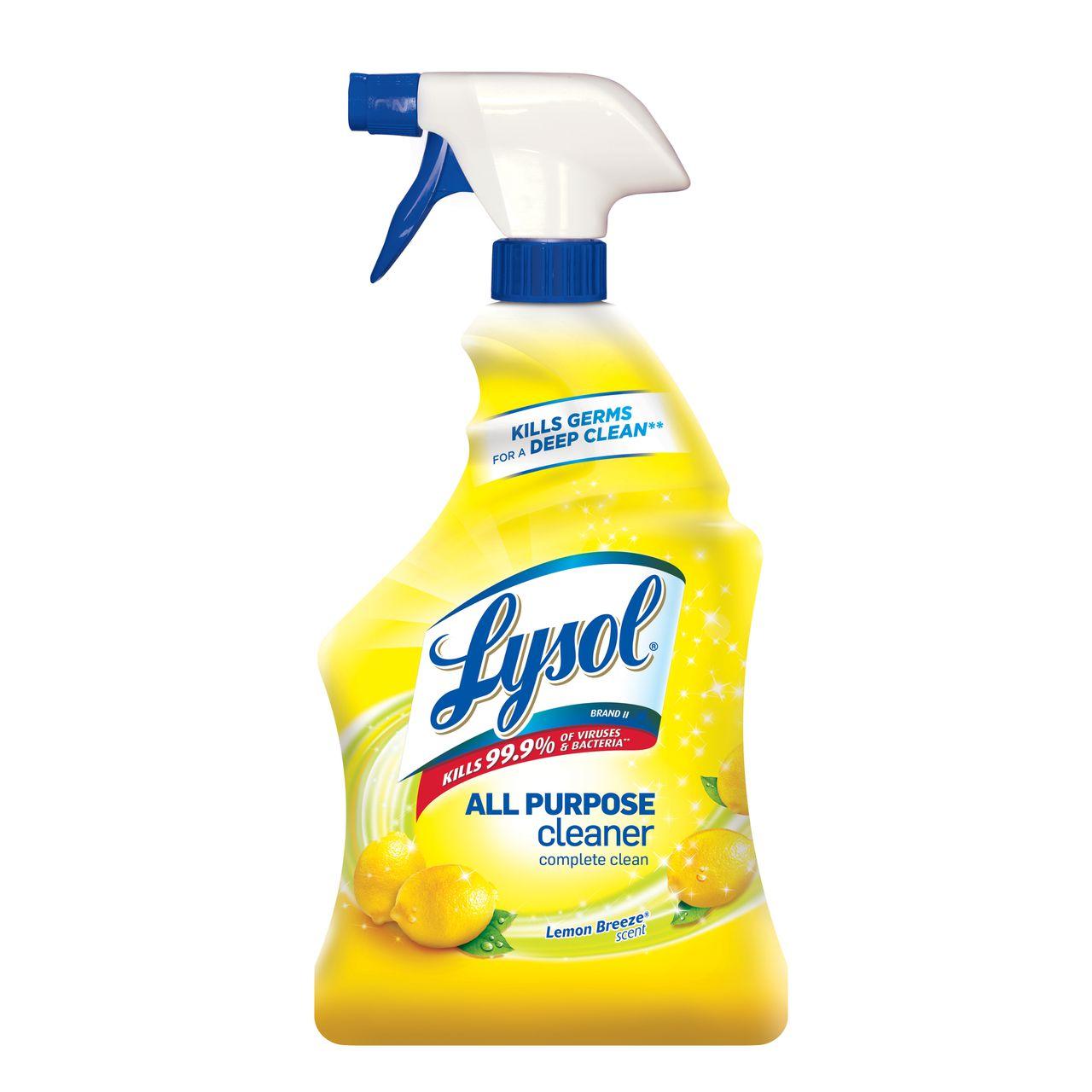 . Lysol  All Purpose Cleaner Trigger  Soap Scum Remover   Lysol