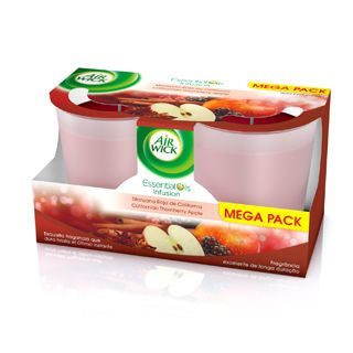 Vela Maçã – Duo Pack