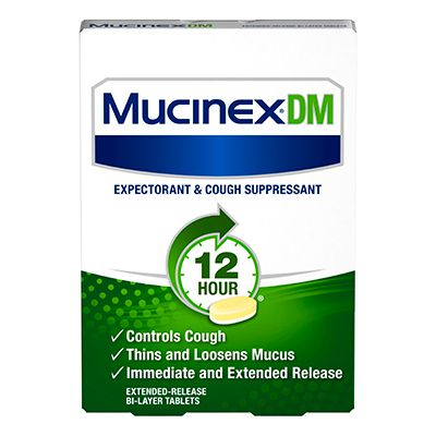 Mucinex DM - FDA prescribing information, side effects and uses