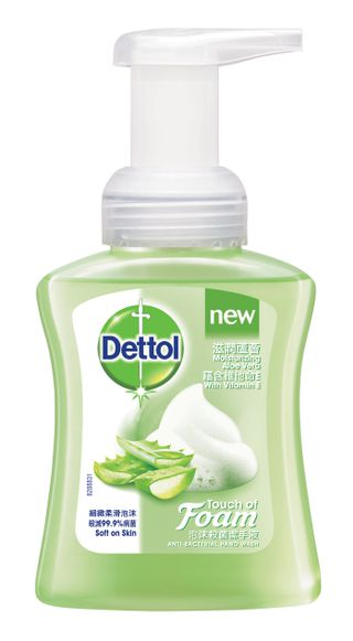 Dettol Touch of Foam: Foaming Hand Soap