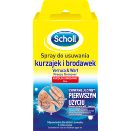 Scholl Spray do usuwania kurzajek i brodawek