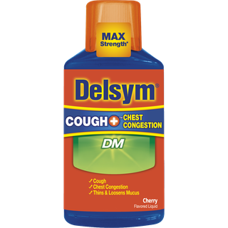 Delsym® Cough+ Chest Congestion DM