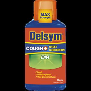 Delsym® Cough+ Chest Congestion DM