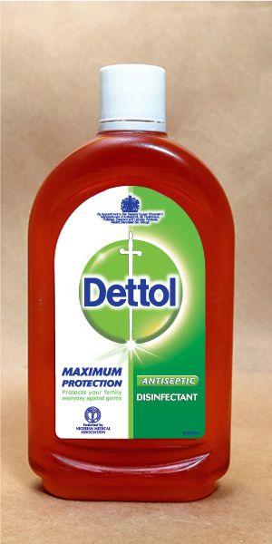 Dettol Antiseptic Disinfectant Liquid Dettol