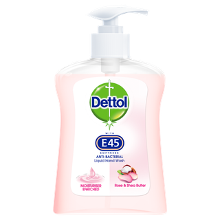 Dettol Hand Wash with E45 Softness - Lotus Flower