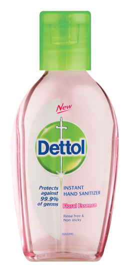 Hand Sanitiser with trusted Dettol Protection