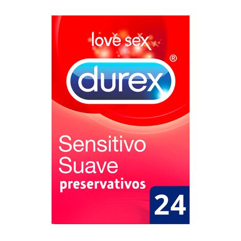 Durex Preservativos Sensitivo Suave 24 unidades