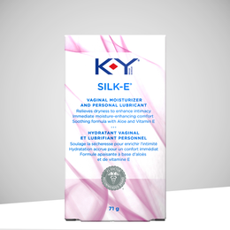K-Y® SILK-E® Vaginal Moisturizer and Personal Lubricant