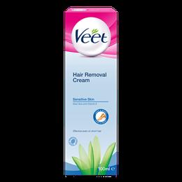 Veet® Hair Removal Cream – Legs & Body - Sensitive Skin