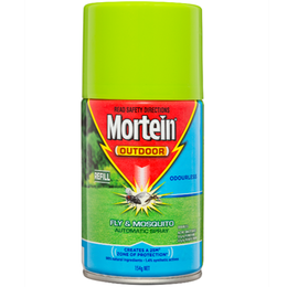 MORTEIN OUTDOOR AUTO PROTECT ODOURLESS REFILL