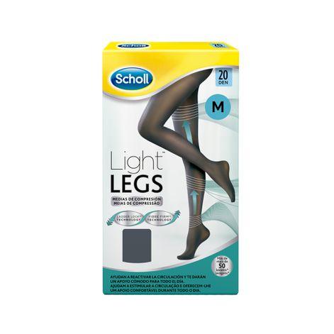 Medias de compresión ligera Scholl Light Legs 20 DEN color negro M