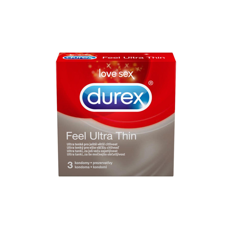 Kondomi Kondom Durex Extra Safe Feel Ultra Thin