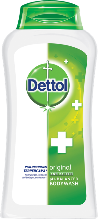 Sabun Cair Anti Bakteri Dettol Original (300ml)