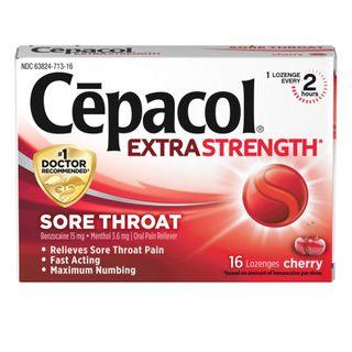 Sore Throat Cherry Lozenges