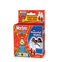 MORTEIN  LIQUID ELECTRICAL REFILL TWIN PACK