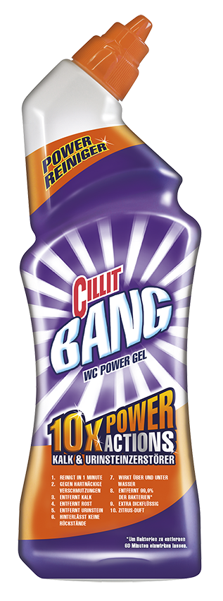 Cillit BANG WC Power Gel Kalk & Urinstein