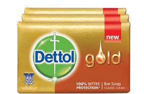 Dettol Gold Anti-Bacterial Bar Soap