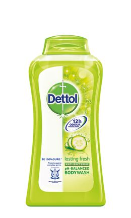 Dettol Lasting Fresh Antibacterial pH-Balanced Body Wash