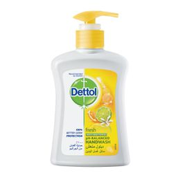 Dettol Liquid Hand Wash Soap Fresh 200ml