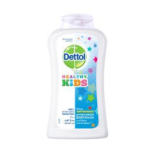 غسول الجسم ديتول الأمير لصحة الأطفال مضاد للباكتيريا 250 مللي.