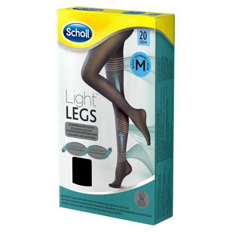 Scholl Light Legs™ Strumpfhose mit Kompressionsfunktion 20 DEN Schwarz M