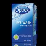 Optrex Eye Wash with Eye Bath