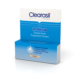 Clearasil Daily Clear Tinted Acne Treatment Cream, 1 Ounce