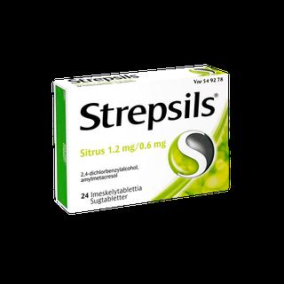 Strepsils Sitrus imeskelytabletti 24