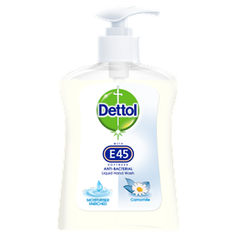 Dettol Hand Wash with E45 Softness - Camomile