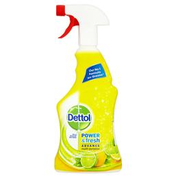 Dettol Power & Fresh Advance Antibacterial Multi-Purpose Spray - Citrus Zest