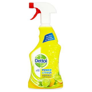 Dettol Power & Fresh Advance Antibacterial Multi-Purpose Spray - Citrus Zest