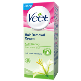 Veet® Krim Penghilang Bulu untuk Kulit Kering