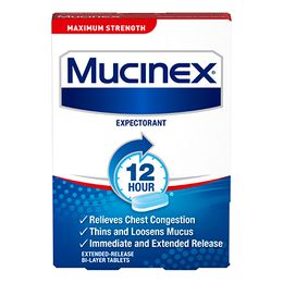 Maximum Strength Mucinex® SE
