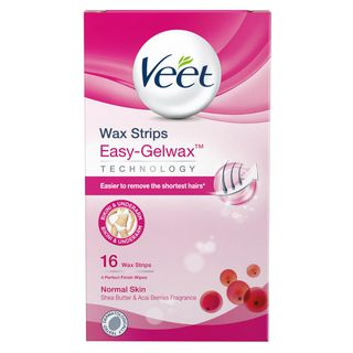 Wax Strips Easy-Gelwax Technology Bikini & Underarm Normal Skin