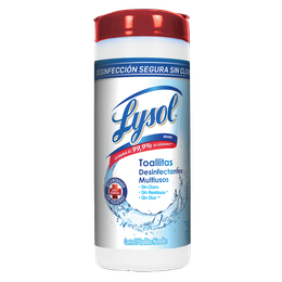 Lysol® Toallitas desinfectantes para superficies