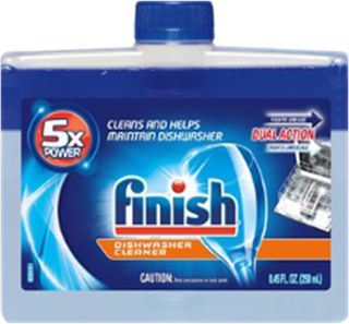 Finish Dishwasher Cleaner Liquid