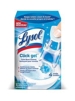 Lysol® Click Gel™ Toilet Bowl Cleaner