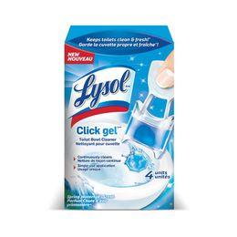 Lysol® Click Gel™ Toilet Bowl Cleaner