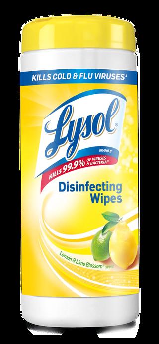 Lysol® Toallitas Desinfectantes para superficies Wipes -  Lemon & Lime